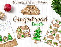 Christmas Gingerbread Graphic Bundle