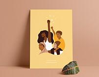 Yellow Beauty Illustrations