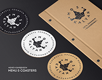 """MOSKALYAN"" BAR Menu & Logotype"
