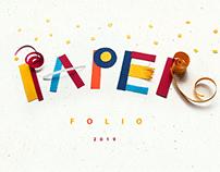 PAPERfolio/ 2019