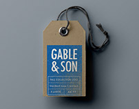 Gable & Son Branding