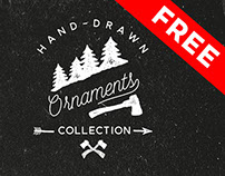 50 Hand Drawn Ornaments - Free Download