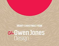 Merry Christmas 2015 from GLOwen Jones Design
