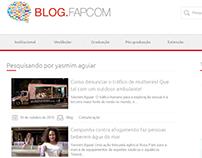 Criação de Conteúdo // BlogFAPCOM