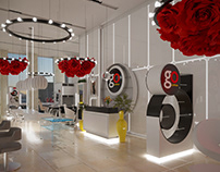 """GO COPPOLA TSVETNOY"" BEAUTY SALON, MOSCOW"