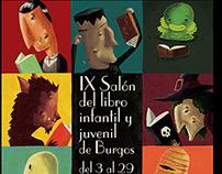 IX Salón del libro infantil y juvenil de Burgos, 2015.