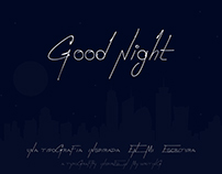 Good Night (Free Font)