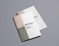 Advanced A4 Brochure Mockup
