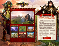 Empire Craft Game Promo Page