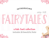 Fairytales - A Kids Font Collection