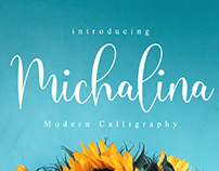 FREE | Michalina Modern Calligraphy