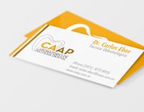 Diseño de identidad corporativa CAAP