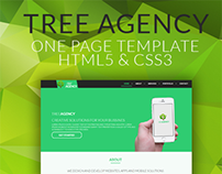 Tree Agency - One Page [HTML5 Template]