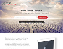 Free Bootstrap 3 Responsive Landing Template