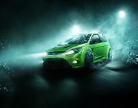 """Ford Focus RS MK2 """"waterseries"""""""