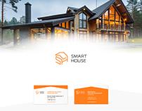 Фирменный стиль СК SmartHouse