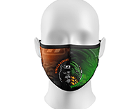 Gorilla Garage X Dragon Garage Face Mask Project