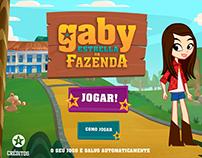 Gaby Estrella na Fazenda - Gloob