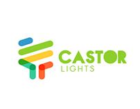 Logo Design for Castor Lights