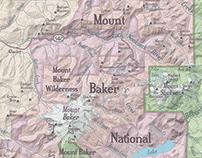Map of Northwest Washington State