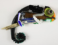 Discarded Objects transformed in Art