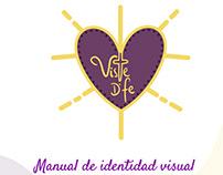 Viste de fe: manual de identidad visual