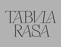 TABULA RASA TYPEFACE