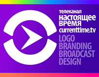 Current Time TV/Logo, Branding & Broadcast design 14/18