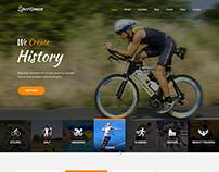 Sportsman WordPress theme