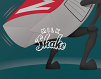 Milk Shake Pun Illustration