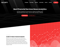 Accern | Landing page