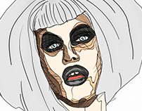 Sharon Needles - Lineart