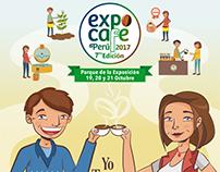 Afiches eventos Expocafe 2017