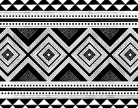 African Collection - Black & White