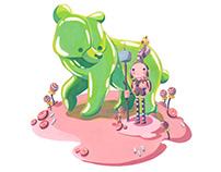 Characterdesignchallenge Candy People