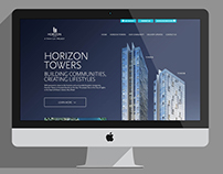 Horizon Towers - Real Estate Project - Website