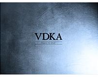 VDKA at The Wynn in Vegas - Ipad Menu Concept Mockup
