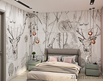 Enchanted bedrooms for girls