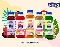 Naked Juice Rebranding