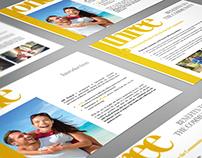 AIM - mHealth: Brochure & Website
