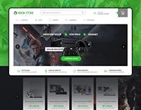 Xbox Loja - Ecommerce UI