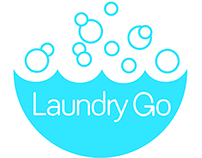 Laundry Go: Naming, branding, Interaction Design.