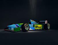 United Colors of Benetton - F1 B194
