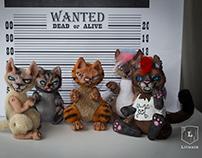 """Pocket Doll """"Bad Kittens"""""""