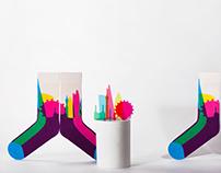 Yoni Alter x Look Mate London Socks