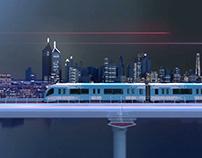 Dubai Metro 10th Anniv