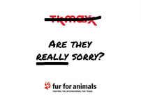 Fur for animals - Are they really sorry?
