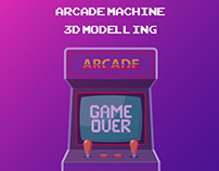 3D ARCADE MACHINE MODELLING