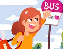 Keolis - School bus safety rules leaflet