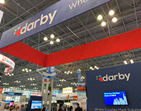 Designed Darby Trade Show Booth
